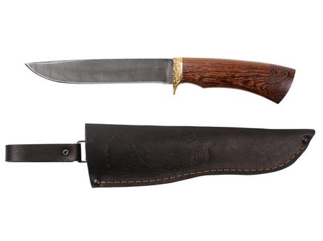 Нож Рысь (дамаск, рукоять венге)