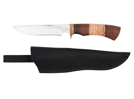 Нож Витязь (сталь 95Х18, рукоять венге, береста)