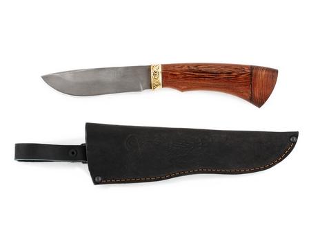 Нож Сурок  (сталь Х12МФ, рукоять венге)
