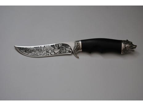 Нож Зубр (сталь 95Х18, рукоять граб)