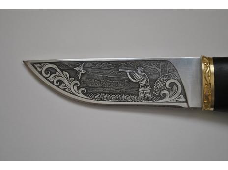 Нож Егерь (сталь 95Х18, рукоять граб)