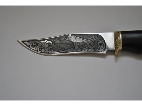 Нож Клык  (сталь 95Х18, рукоять граб)