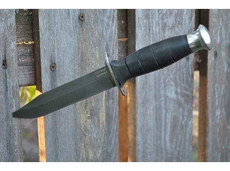 Нож Щука (сталь Х12МФ, рукоять резина)