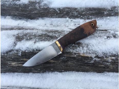 Нож  Сурок (сталь N690, рукоять орех)