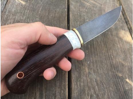 Нож Сурок  (сталь ХВ5, рукоять акрил, венге)