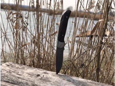 Складной нож 11 (дамасская сталь, венге)
