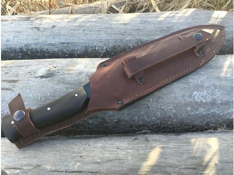 Нож Леший 4 (сталь у8а, рукоять граб)