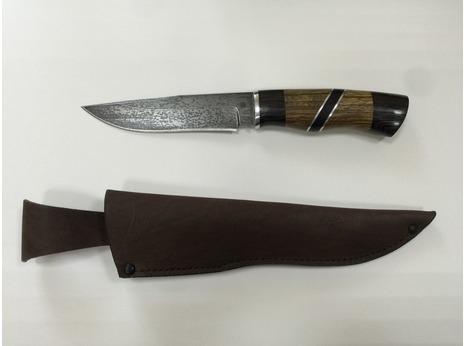 Нож  Лиса (сталь ХВ5, рукоять венге, орех)
