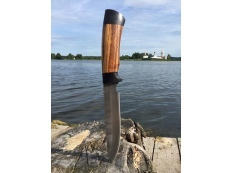 Нож Витязь (Х12МФ, рукоять граб, зебрано)