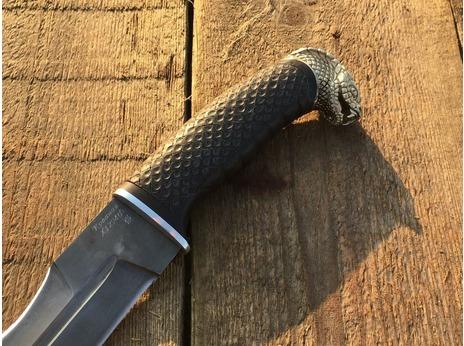 Нож Змей (сталь х12мф, рукоять граб)