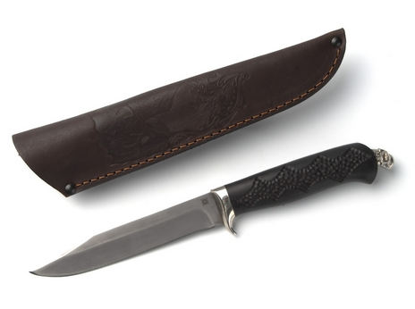 Нож Щука (сталь Х12МФ, рукоять граб)