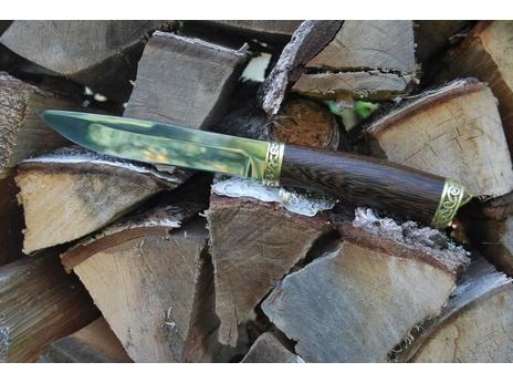 Нож Гусар (сталь 65Х13, рукоять венге)