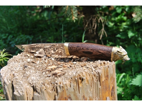 Нож Охотник (сталь 95Х18, рукоять венге)