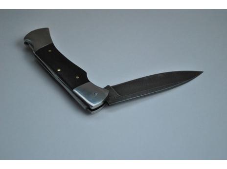 Складной нож 2 (сталь  дамаск, венге)