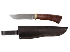 Нож Коршун (дамаск, рукоять венге)
