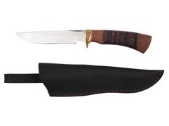 Нож Витязь (сталь 95Х18, рукоять венге, кожа)