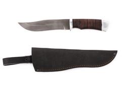 Нож Клык (сталь Х12МФ, рукоять кожа)
