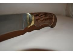 Нож Крот (дамаск, рукоять венге)
