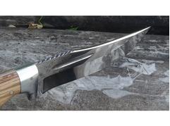 Нож Бухарский (сталь Х12МФ, рукоять зебрано)