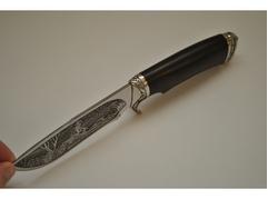Нож Зверобой (сталь 95Х18, рукоять граб)