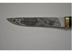 Нож Рысь (сталь 95Х18, рукоять граб)