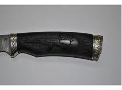 Нож Витязь (дамаск, рукоять Граб)