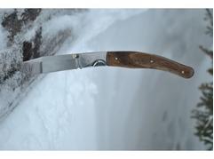 Складной нож 7 (сталь  95X18, венге)