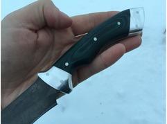 Нож Гепард (сталь D2 рукоять микарта)