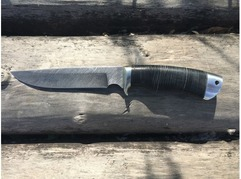 Нож Витязь (дамаск, рукоять кожа)