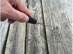 Нож Ягуар  (сталь х12мф, рукоять граб)
