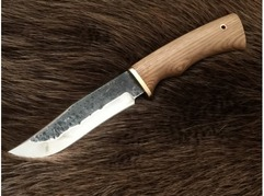Нож Коршун (сталь 95Х18, ручная ковка, рукоять дуб)