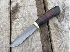 Нож Сурок  (сталь Х12МФ, рукоять граб, кожа)