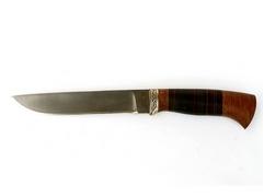 Нож Рысь (сталь Х12МФ, рукоять кожа, венге)