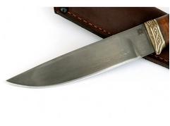 Нож Лиса (сталь Х12МФ, рукоять кожа, венге)