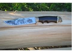 Нож Охотник (сталь 95Х18, рукоять граб)