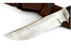 Нож Бухарский (дамаск, рукоять граб)