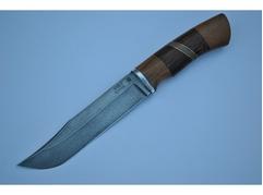 Нож Тигр (сталь ХВ5, рукоять орех, венге)