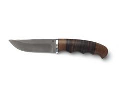 Нож Егерь (Х12МФ, рукоять венге, кожа)