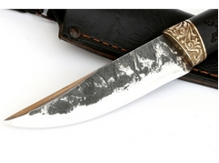 Нож Лиса (сталь Х12МФ ручная ковка, рукоять граб)