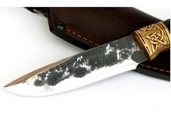 Нож Сурок (сталь Х12мф ручная ковка, рукоять граб)