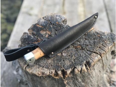 Нож Промысловый  (сталь Х12МФ, рукоять береста)