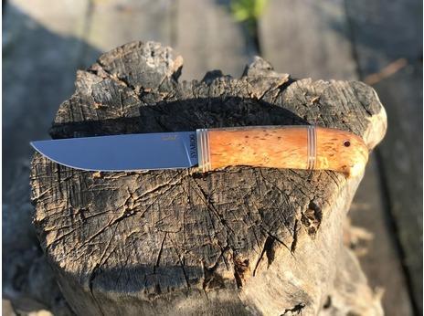 Нож Сурок  (сталь elmax, рукоять карельская береза)