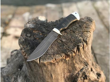 Нож Лиса ( сталь Х12МФ, рукоять кожа)
