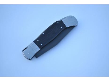 Складной нож 4 (сталь булат, граб)