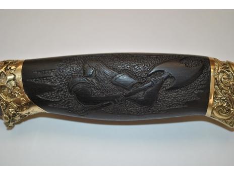 Нож Витязь (сталь Х12МФ, рукоять граб)