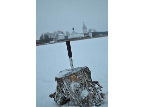 Нож Якутский (сталь х12мф, рукоять граб)