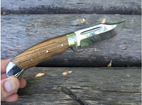 Нож Клык (сталь Х12МФ, рукоять  зебрано)