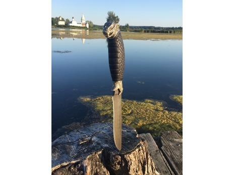 Нож Багира  (дамаск, рукоять граб)
