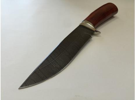 Нож Лиса (дамаск, рукоять падук)