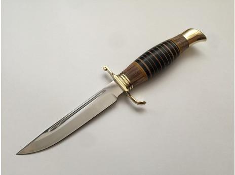 Нож Норвежский  ( Х12МФ, рукоять граб, береста)